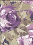 Icon Arosa Grape Wallpaper 1966/808 By Prestigious Wallcoverings
